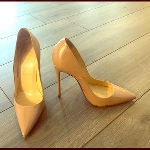 👠Christian Louboutin Nude heel**********
